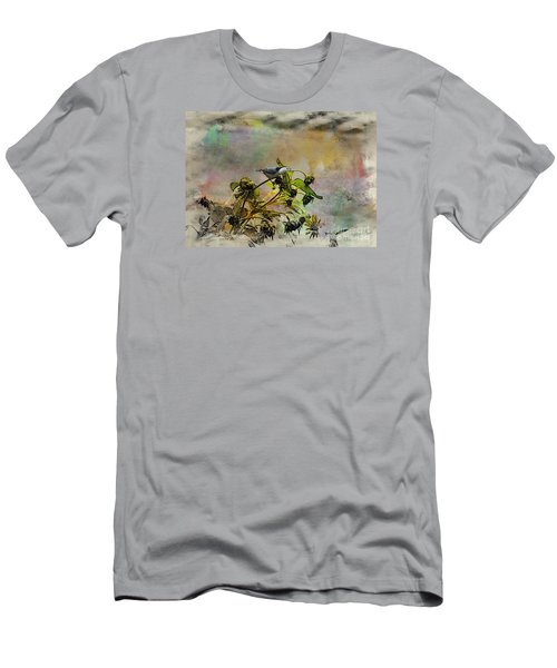 White Breasted Nuthatch Men's T-Shirt (Slim Fit) by Yumi Johnson