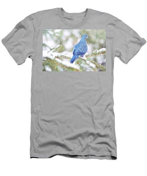 Winter Birds Men's T-Shirt (Athletic Fit)