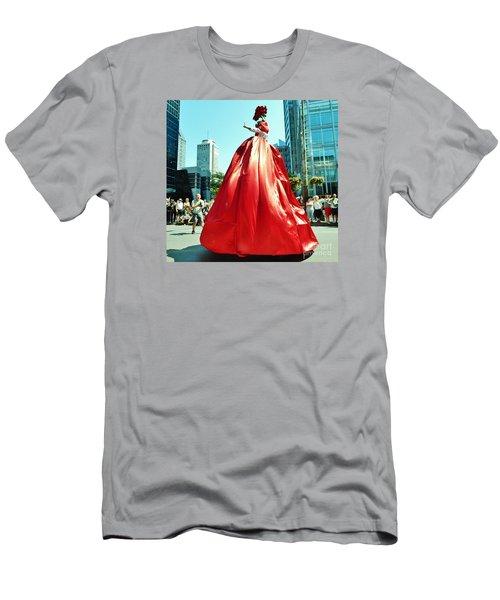2015 Montreal Lgbta Parade  Men's T-Shirt (Athletic Fit)