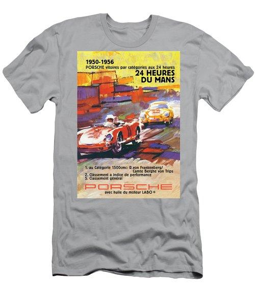 24 Hours Of Le Mans Men's T-Shirt (Athletic Fit)