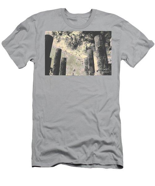 Akropolis Columns Men's T-Shirt (Athletic Fit)