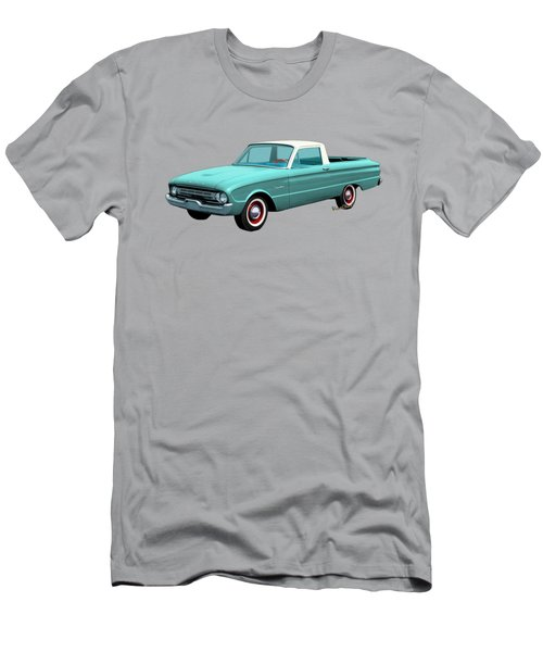 2nd Generation Falcon Ranchero 1960 Men's T-Shirt (Slim Fit) by Chas Sinklier
