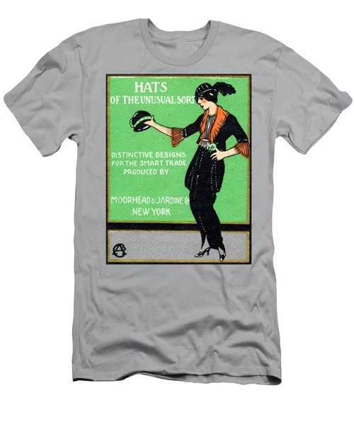 1920 Hats Of The Unusual Sort Men's T-Shirt (Athletic Fit)