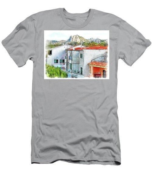 Arzachena Urban Landscape Men's T-Shirt (Athletic Fit)