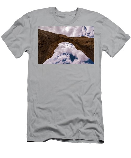 Men's T-Shirt (Slim Fit) featuring the photograph Monument Rocks by Jay Stockhaus