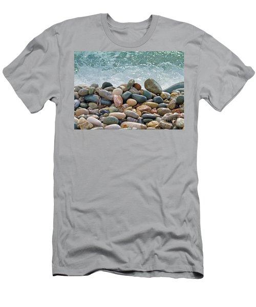 Ocean Stones Men's T-Shirt (Athletic Fit)