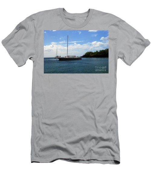 Men's T-Shirt (Athletic Fit) featuring the photograph Sail Boat by Gary Wonning
