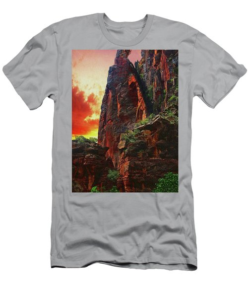 Sunrise In Canyonlands Men's T-Shirt (Athletic Fit)