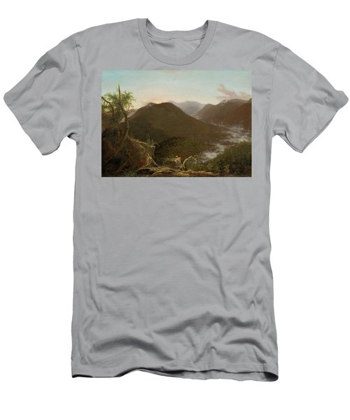 Sunrise In The Catskills  Men's T-Shirt (Athletic Fit)