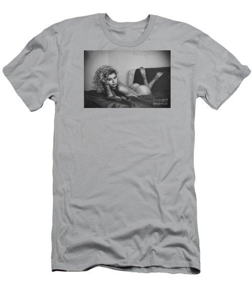 Tu M'as Promis Men's T-Shirt (Athletic Fit)