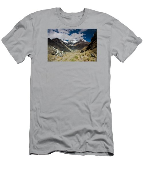 View From Portachuelo Pass Men's T-Shirt (Athletic Fit)