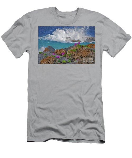 34- Beauty And Power Men's T-Shirt (Slim Fit) by Joseph Keane