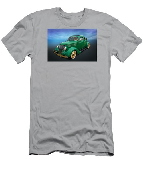 Men's T-Shirt (Slim Fit) featuring the photograph 36 Ford by Keith Hawley