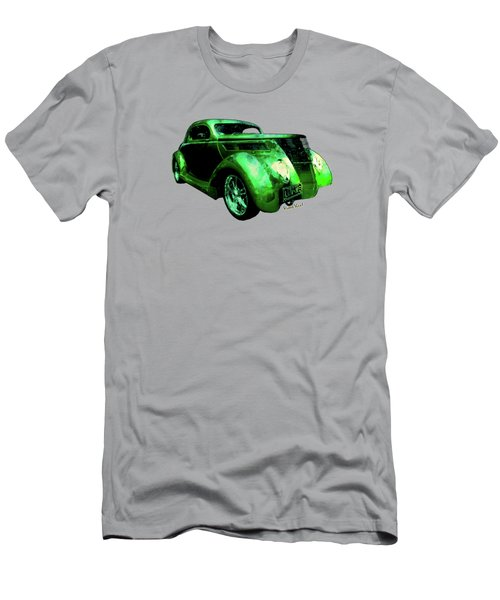 37 Ford Street Rod Luv Me Green Meanie Men's T-Shirt (Athletic Fit)