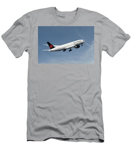 Air Canada Boeing 777-233 Men's T-Shirt (Athletic Fit)