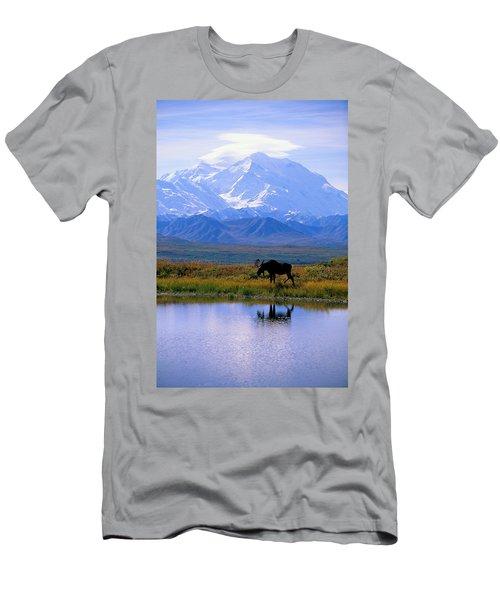 Denali National Park Men's T-Shirt (Athletic Fit)
