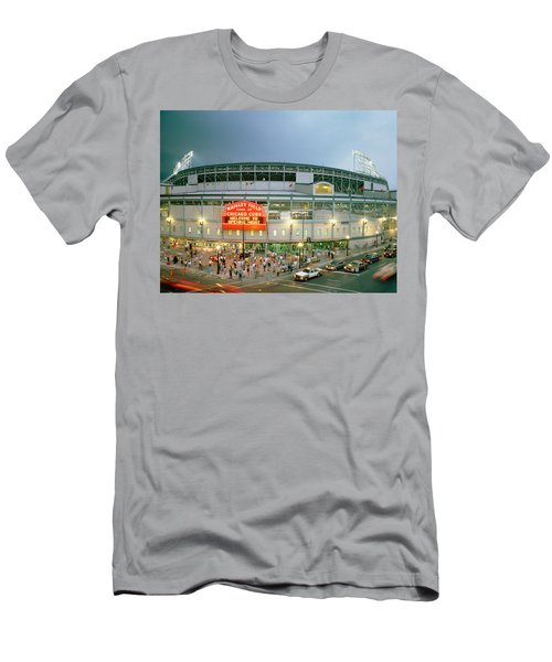 High Angle View Of Tourists Men's T-Shirt (Athletic Fit)