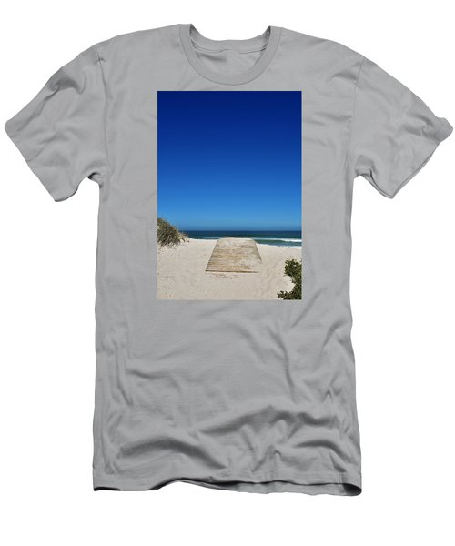 long awaited View Men's T-Shirt (Slim Fit) by Werner Lehmann