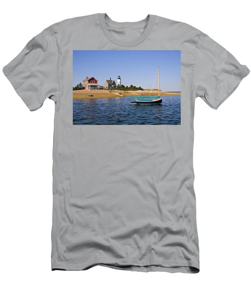 Sandy Neck Lighthouse Men's T-Shirt (Athletic Fit)