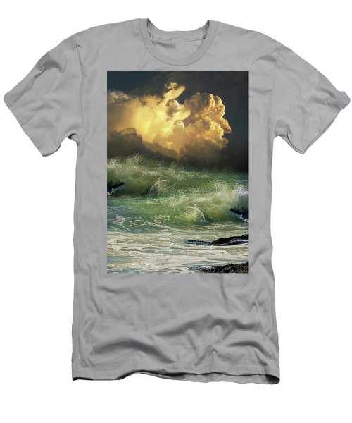 Men's T-Shirt (Athletic Fit) featuring the photograph 4449 by Peter Holme III