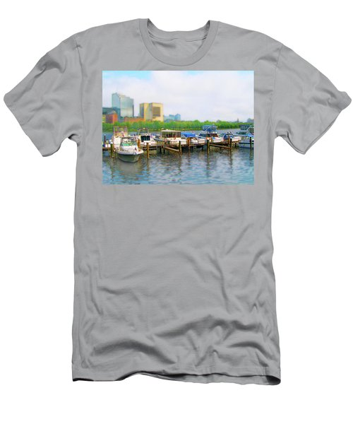 Men's T-Shirt (Athletic Fit) featuring the photograph 4455 by Peter Holme III