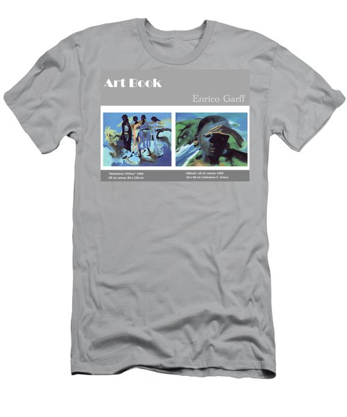 Art Book Men's T-Shirt (Athletic Fit)