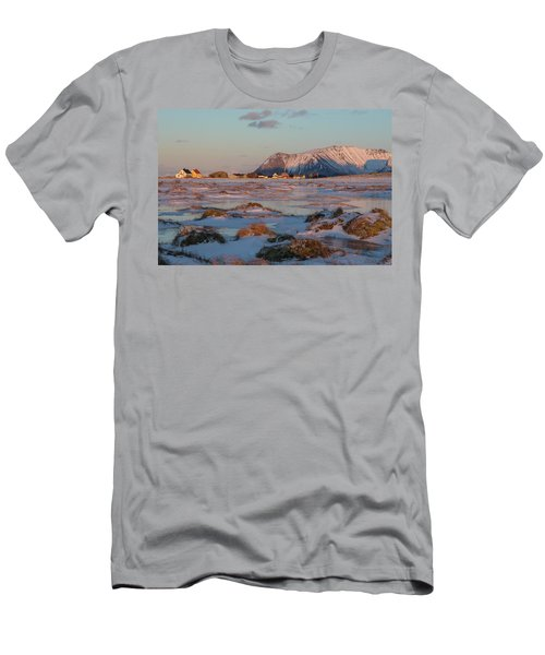 Bostad, Lofoten - Norway Men's T-Shirt (Athletic Fit)