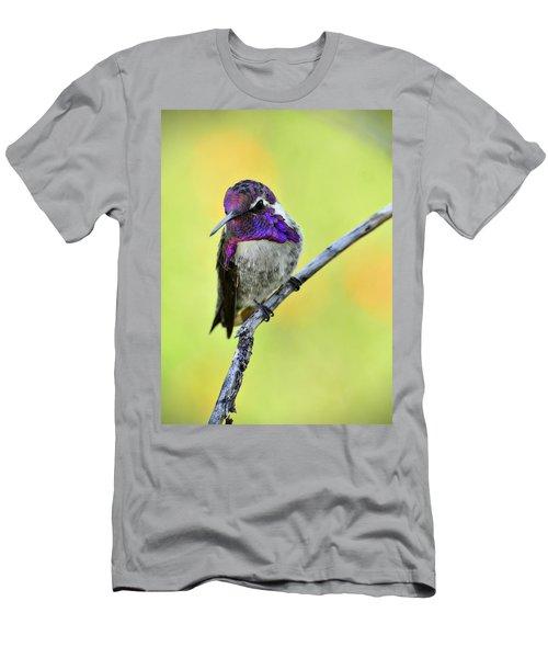 Costas Hummingbird  Men's T-Shirt (Athletic Fit)