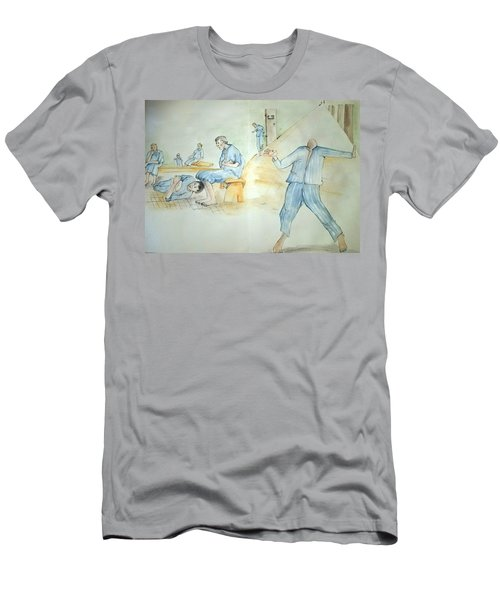 Mental Illness Hurts Album Men's T-Shirt (Athletic Fit)