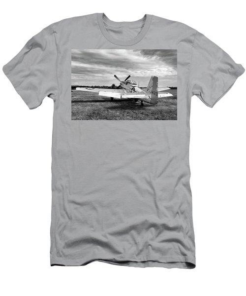 Men's T-Shirt (Slim Fit) featuring the photograph 51 Shades Of Grey by Peter Chilelli