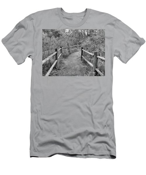 Almost There Men's T-Shirt (Slim Fit) by Beto Machado