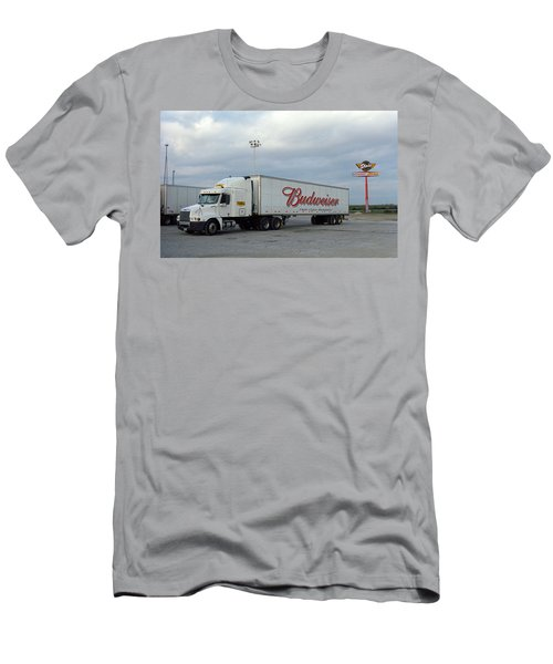 Route 66 - Dixie Truckers Home Men's T-Shirt (Athletic Fit)