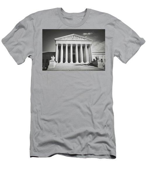 Supreme Court Building Men's T-Shirt (Athletic Fit)
