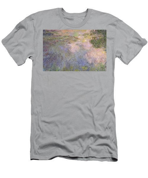 The Waterlily Pond Men's T-Shirt (Athletic Fit)