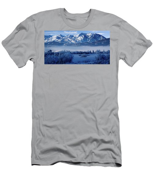 Winter In The Wasatch Mountains Of Northern Utah Men's T-Shirt (Athletic Fit)