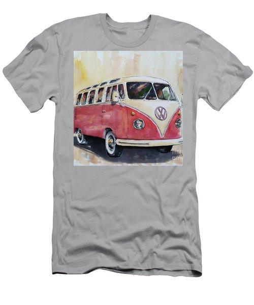 '63 V.w. Bus Men's T-Shirt (Athletic Fit)