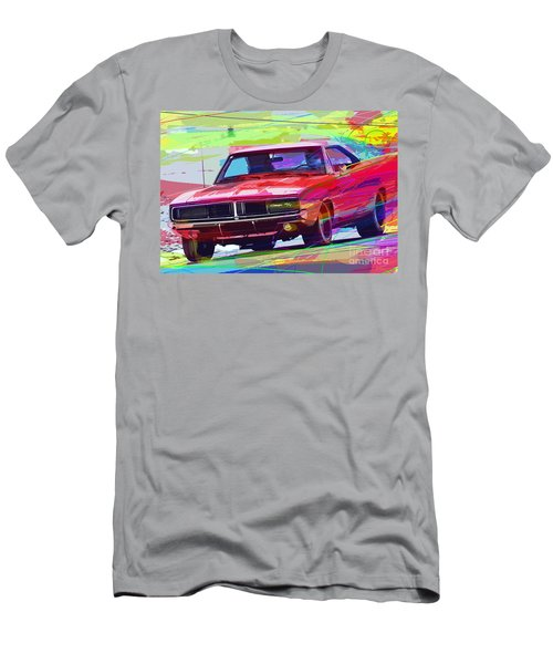 69 Dodge Charger  Men's T-Shirt (Athletic Fit)
