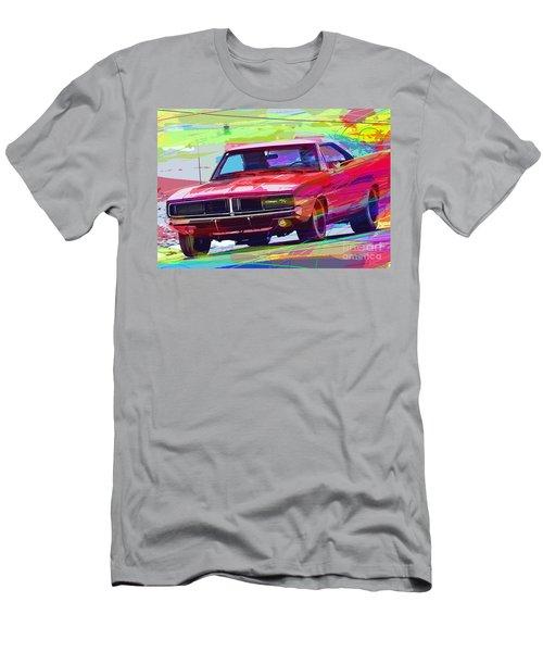 69 Dodge Charger  Men's T-Shirt (Athletic Fit)