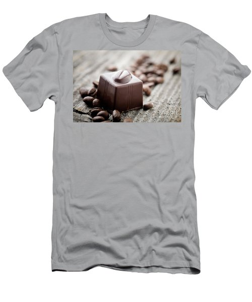 Chocolate Men's T-Shirt (Athletic Fit)