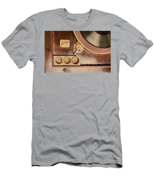 Men's T-Shirt (Athletic Fit) featuring the photograph 78 Rpm And Accessories by Gary Slawsky