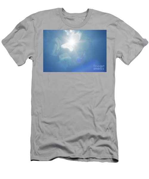 Men's T-Shirt (Slim Fit) featuring the photograph Abstract Sunlight by Atiketta Sangasaeng