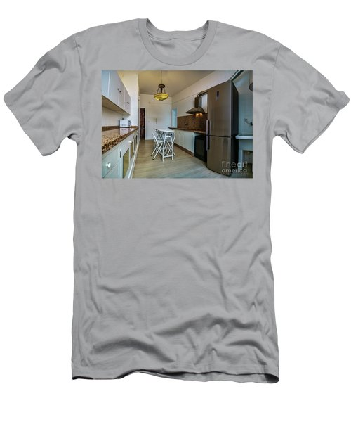Men's T-Shirt (Athletic Fit) featuring the photograph Apartment In The Heart Of Cadiz by Pablo Avanzini