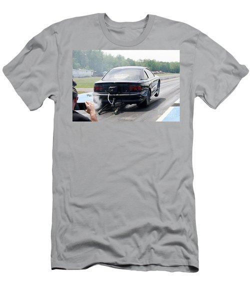 8588 06-15-2015 Esta Safety Park Men's T-Shirt (Athletic Fit)