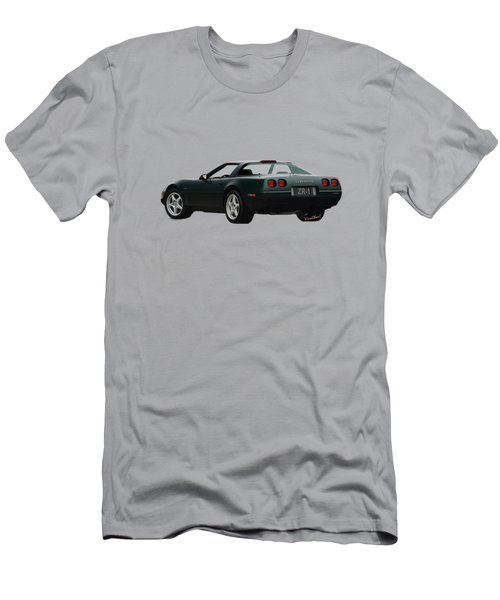 94 Corvette Zr-1 Three-quarter Back Men's T-Shirt (Athletic Fit)