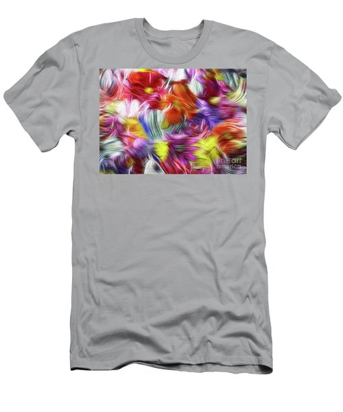 9a Abstract Expressionism Digital Painting Men's T-Shirt (Athletic Fit)