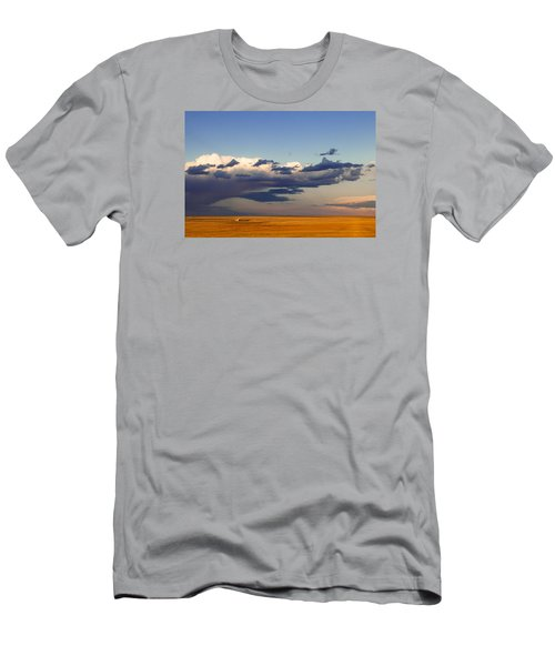 A Barn On The Prairie Men's T-Shirt (Athletic Fit)