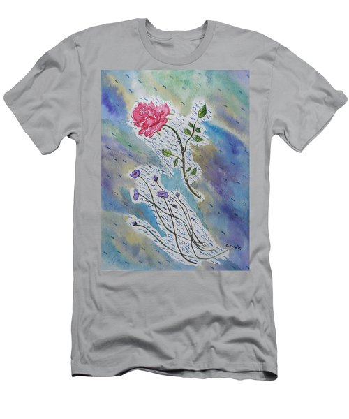 A Bit Of Whimsy Men's T-Shirt (Slim Fit) by Carol Crisafi