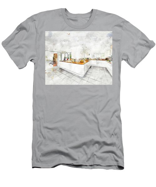 A Bright White Kitchen Men's T-Shirt (Athletic Fit)