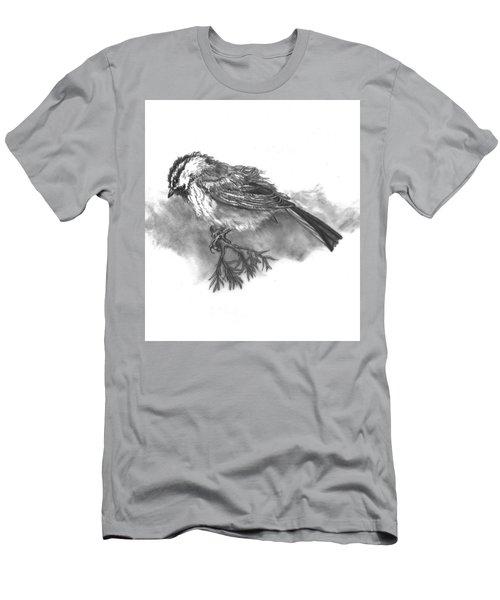 A Chickadee Named Didi Men's T-Shirt (Slim Fit) by Dawn Senior-Trask