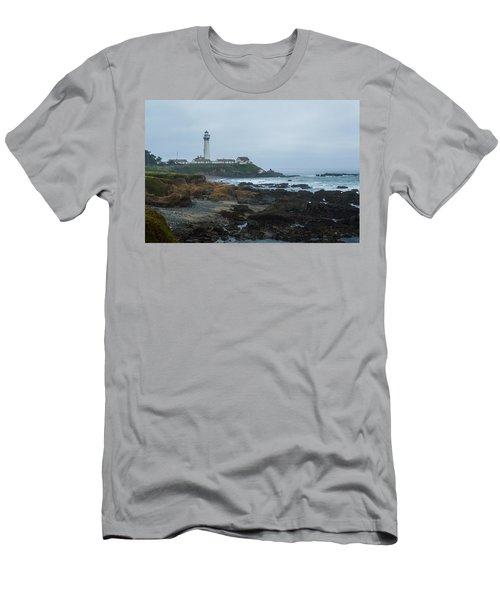 A Cloudy Day At Pigeon Point Men's T-Shirt (Athletic Fit)